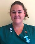 Ashleigh Smith, RVN at Avenue Veterinary Surgery